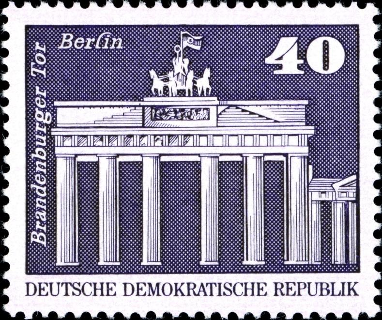 DDR Philatelie Briefmarken Forschung Dauerserie Aufbau