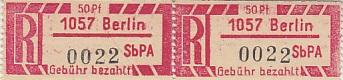 DDR Philatelie Briefmarken Forschung Einschreiben