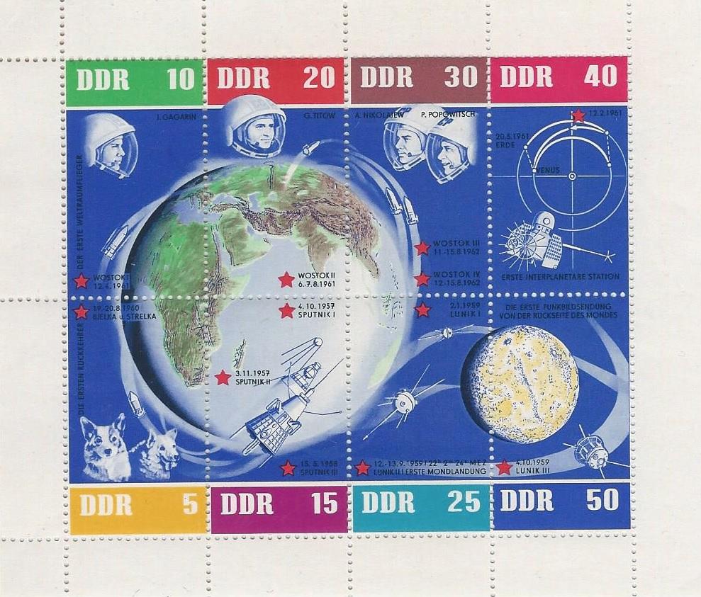 DDR Philatelie Briefmarken Forschung Kleinbogen