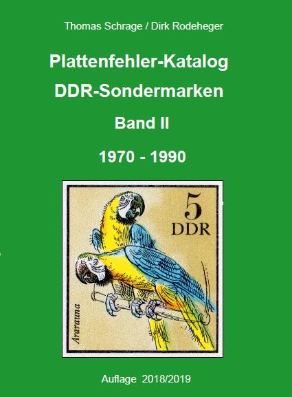 DDR Philatelie Literatur Plattenfehler Katalog