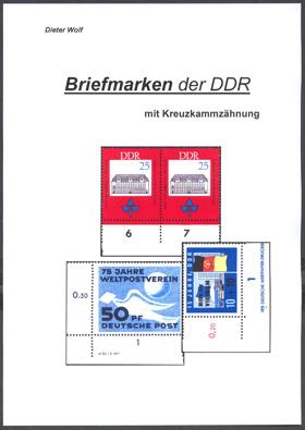 DDR Philatelie Literatur Kreuzkammzähnung Handbuch