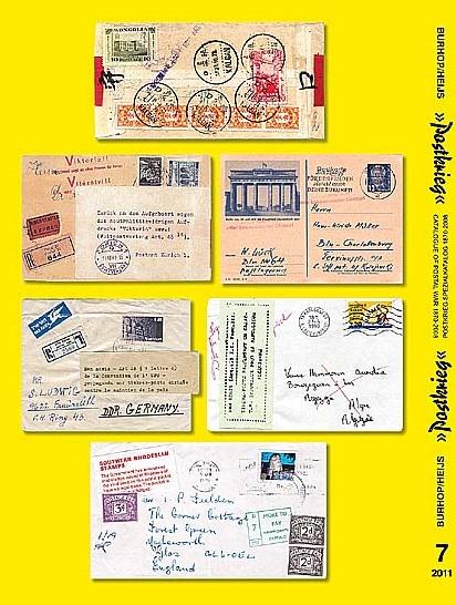 DDR Philatelie Literatur Postkrieg