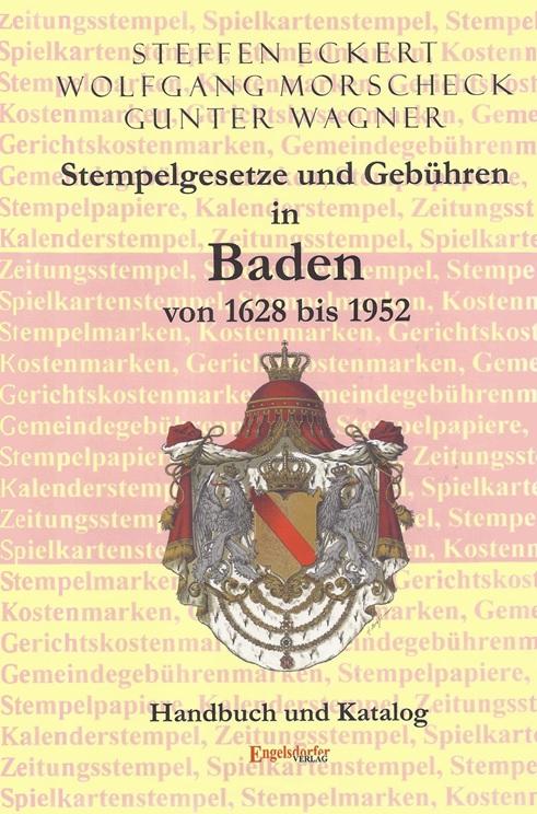 Philatelie Literatur Stempelgesetze Gebühren Baden