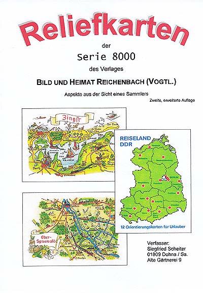 DDR Philatelie Literatur Reliefkarten