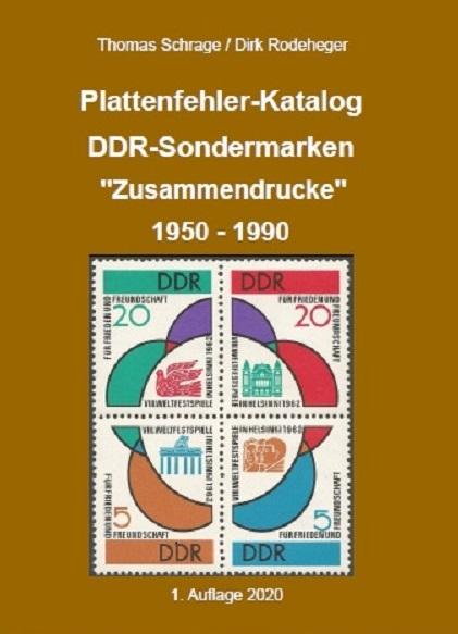 DDR Philatelie Literatur Plattenfehler Zusammendrucke Katalog