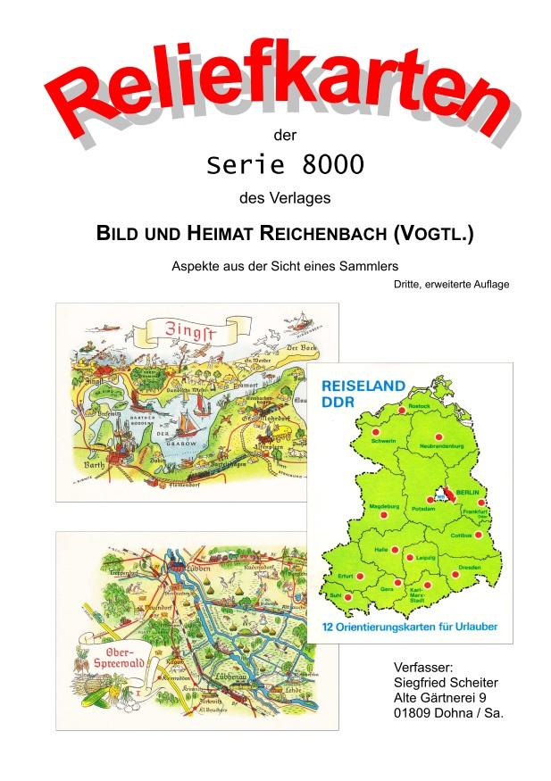 DDR Philatelie Literatur Bild und Heimat Reichenbach Ansichtskarten
