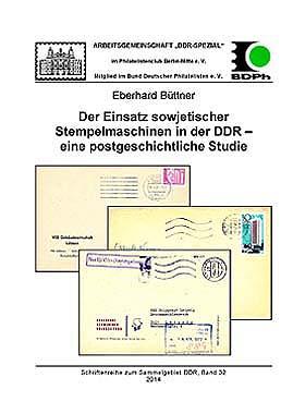 DDR Philatelie Literatur sowjetische Stempelmaschinen