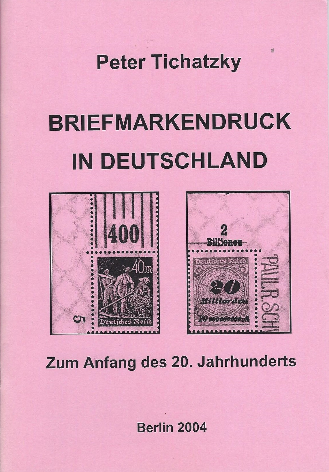 DDR Philatelie Literatur Briefmarkendruck