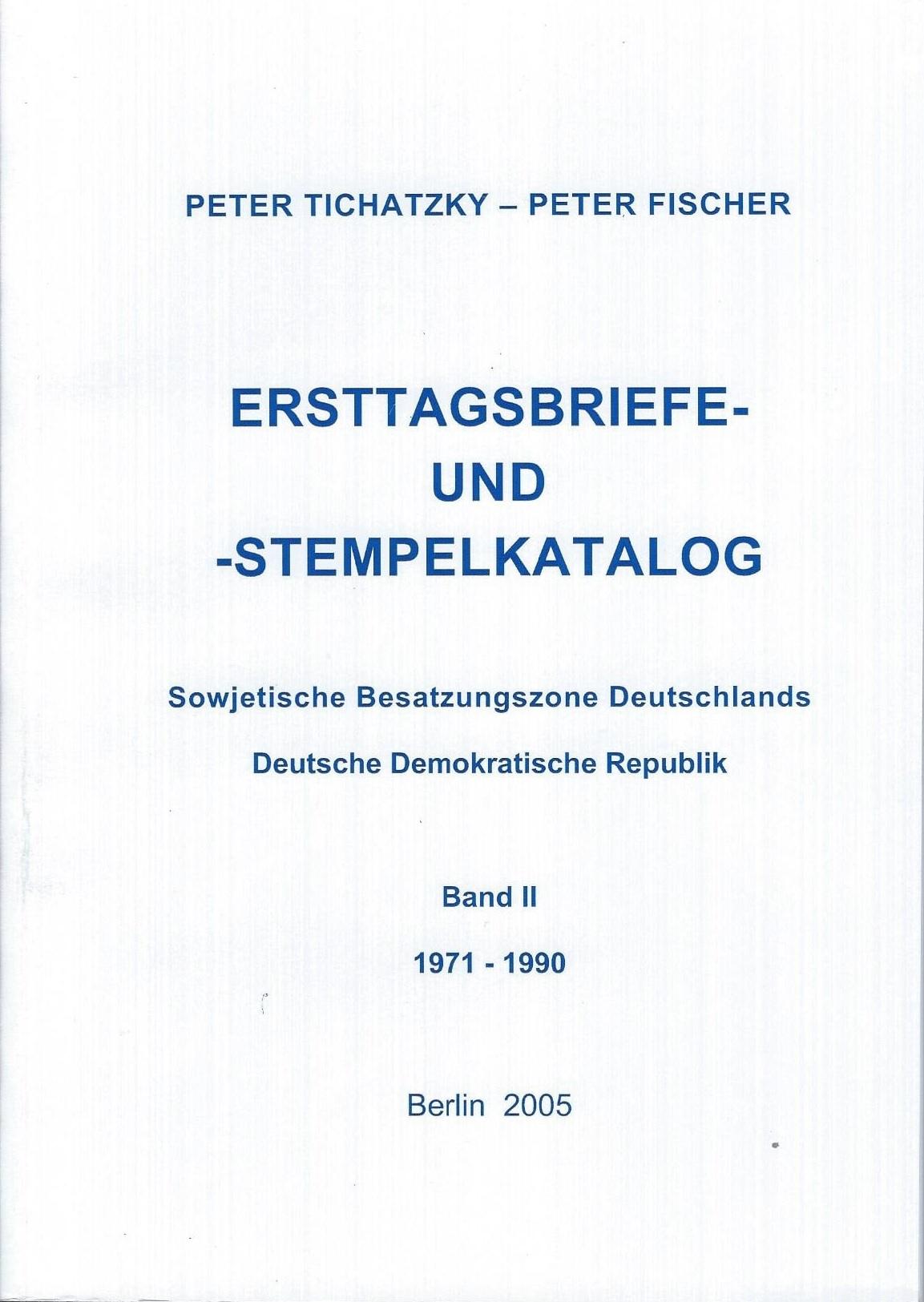 DDR Philatelie Literatur Ersttagsbriefe Ersttagsstempel