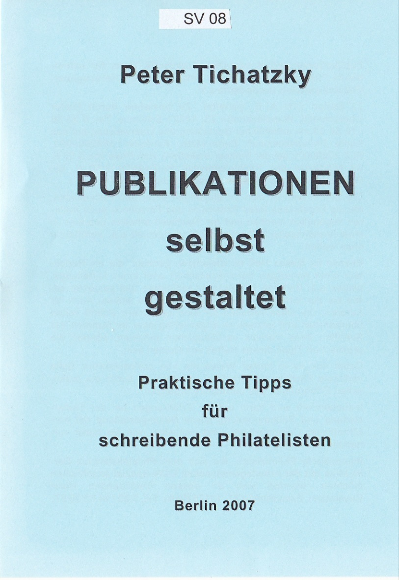 DDR Philatelie Literatur Publikation Tipps