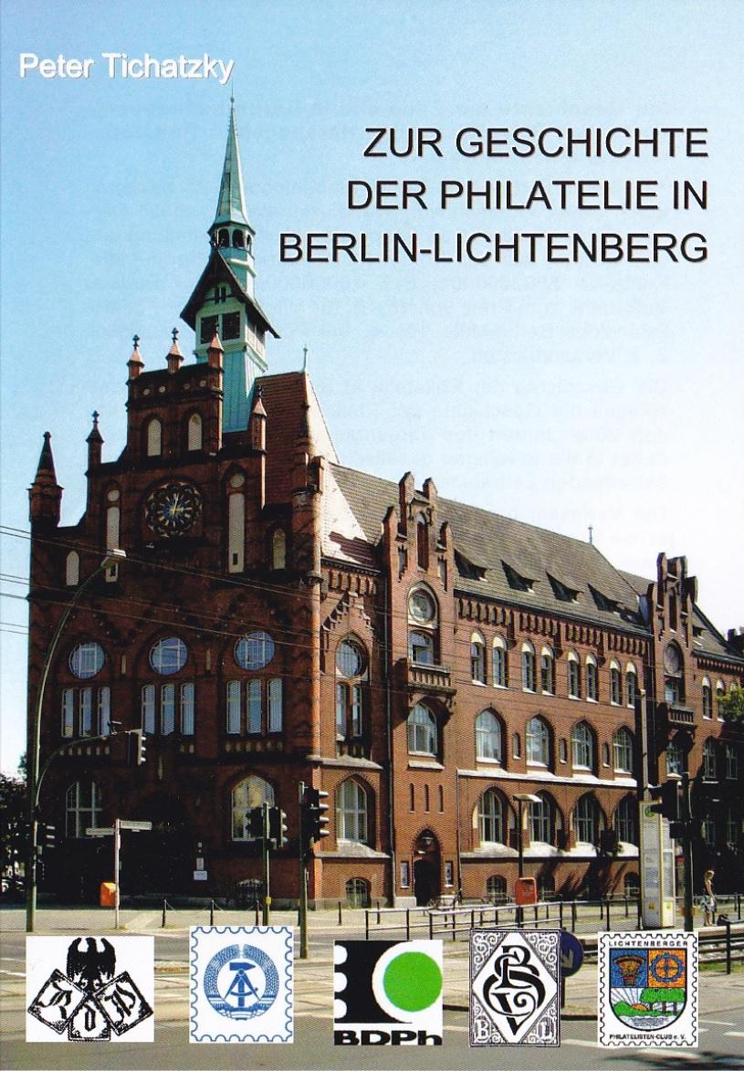 DDR Philatelie Literatur Geschichte Berlin Lichtenberg