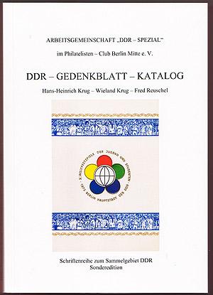 DDR Philatelie Literatur Gedenkblatt