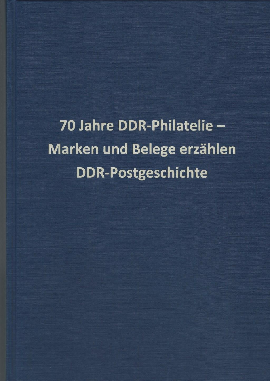 DDR Philatelie Literatur Festschrift 70 Jahre