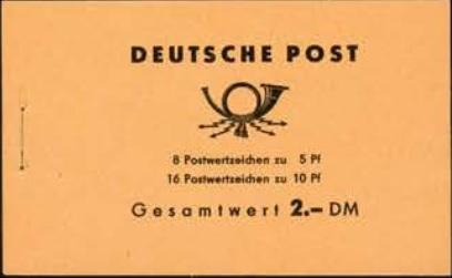 DDR Markenheftchen Walter Ulbricht