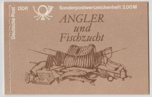 DDR Markenheftchen 9 Fische