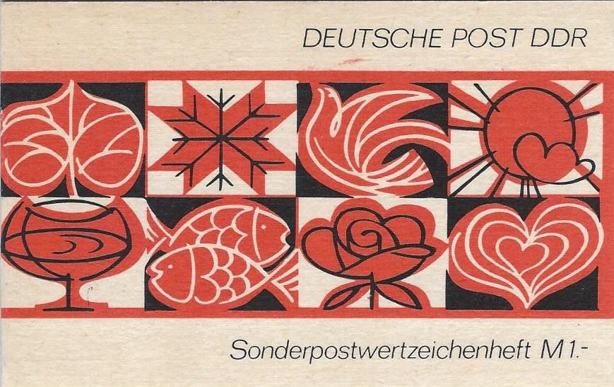 DDR Philatelie Briefmarken Forschung Sondermarkenheftchen