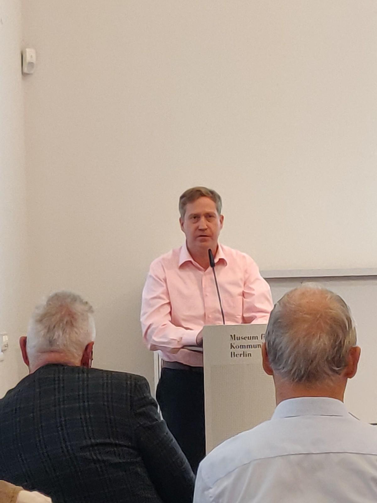 DDR Philatelie Symposium 70 Jahre Ruscher