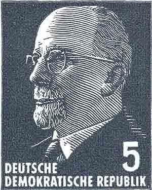 Philatelie DDR Dauerserie Walter Ulbricht