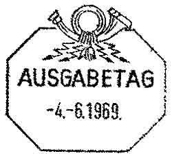 DDR Walter Ulbricht FDC ETBU